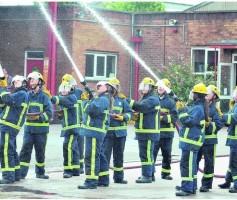 Treinamento para formação de brigada de incendio